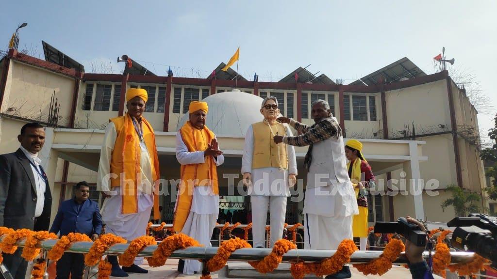 जयप्रकाश विश्वविद्यालय में 5वें दीक्षांत समारोह का हुआ आयोजन, जेपी की प्रतिमा का राज्यपाल ने किया अनावरण