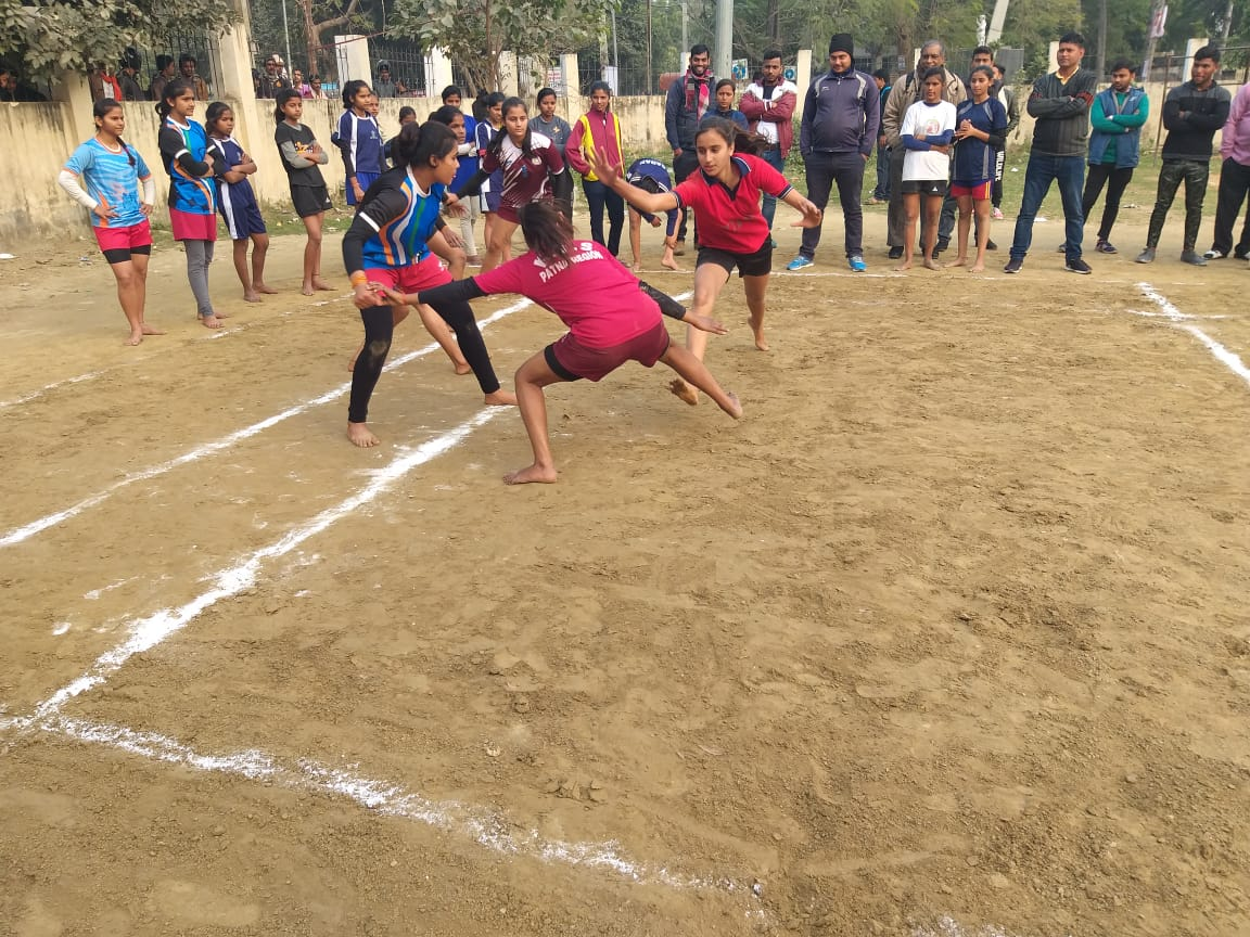 कबड्डी: बिहार सब जूनियर प्रतियोगिता के लिए बालिका वर्ग का हुआ ट्रायल