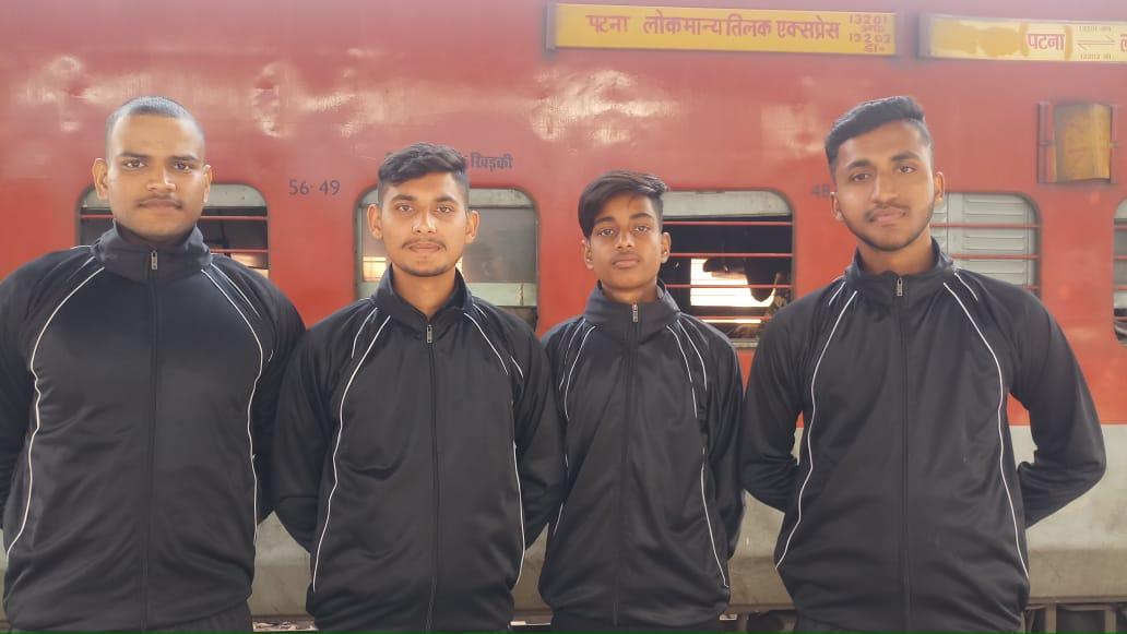 यूथ नेशनल चैंपियनशिप में बिहार टीम में खेलेंगे छपरा के चार खिलाड़ी
