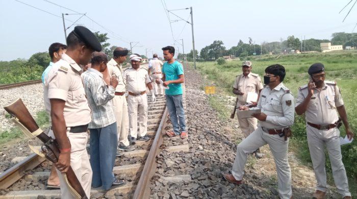 दाउदपुर में श्रमिक एक्सप्रेस से गिरकर युवक की मौत