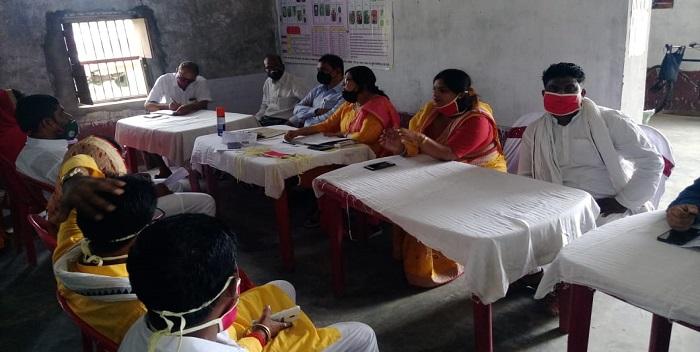 बीडीसी की बैठक में योजनाओं पर चर्चा, डीएलएड में अवैध वसूली की जांच को लेकर बनी 5 सदस्यीय कमिटी