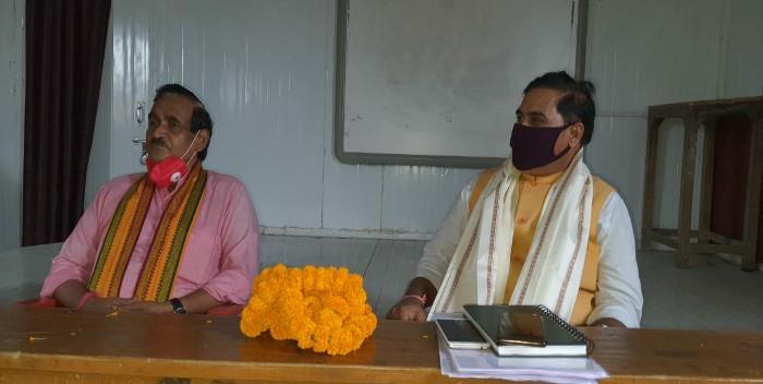 भाजपा जिला कार्यकारिणी की हुई बैठक