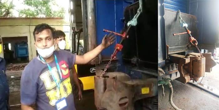 पूर्वोत्तर रेलवे के छपरा कोचिंग डिपो ने विकसित किया उपकरण, कम समय में हो सकेगा अनुरक्षण कार्य