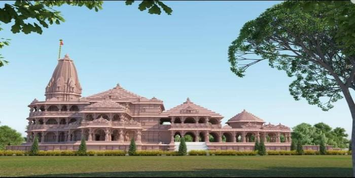 अयोध्या में आज श्रीराम मंदिर का भूमि पूजन