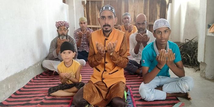 गृहमंत्री के स्वस्थ होने के लिए मुस्लिम समाज ने किया दुआ