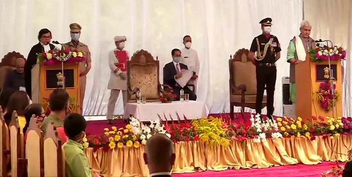 मनोज सिन्हा ने ली जम्मू-कश्मीर के उपराज्यपाल पद की शपथ