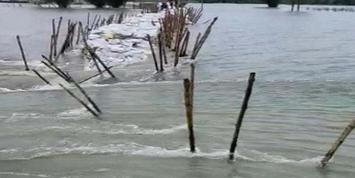 सारण में फिर से मंडराने लगा बाढ़ का खतरा, नेपाल ने छोड़ा 4 लाख क्यूसेक पानी