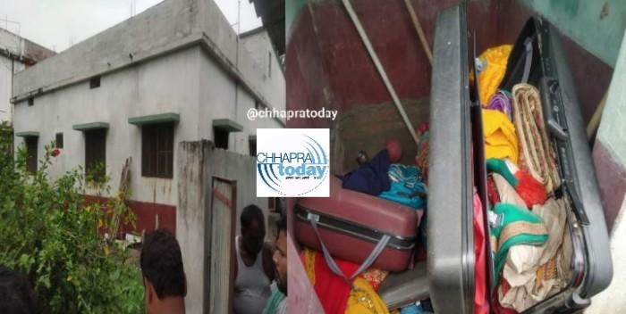 गरखा के बीबीपुर में चोरी, कीमती समानों के साथ आभूषण और नगदी की चोरी