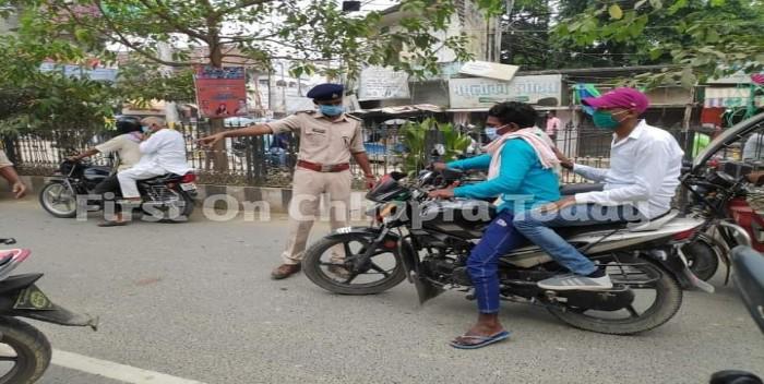 प्रशासन ने चलाया वाहन जांच अभियान, वाहन चालकों में हड़कंप