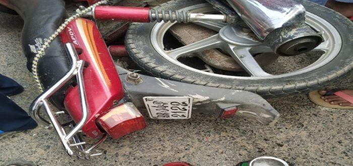 ट्रैक्टर से टकराई बाइक, दोनों बाइक सवार की मौत
