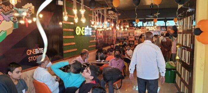 छपरा में बड़े शहरों के तर्ज पर खुला ONE BITE रेस्तरां