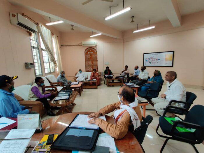 जेपीयू में क्रय-विक्रय समिति की हुई बैठक, खरीदी जाएगी सादी उत्तर पुस्तिका