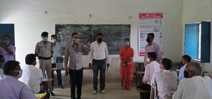 बिहार चुनाव: सामान्य प्रेक्षक ने किया प्रशिक्षण केंद्र का निरीक्षण, कर्मियों को दिए टिप्स
