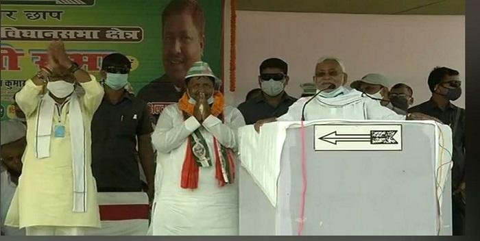 मढ़ौरा में बोले CM नीतीश कुमार- स्वावलंबी और सक्षम बिहार के लिए सात नश्चिय पार्ट 2 पर होगा काम