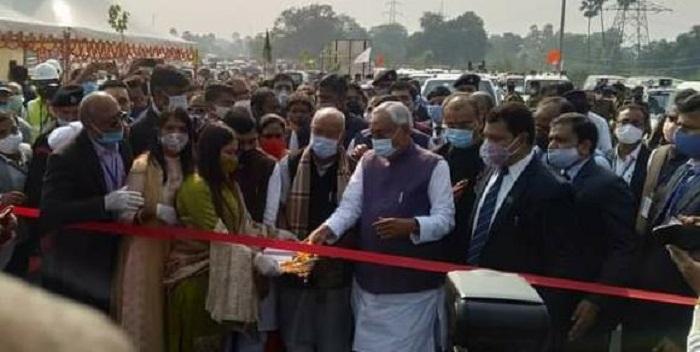 बिहार के सबसे लंबे एम्स-दीघा एलिवेटेड पथ का मुख्यमंत्री ने किया लोकार्पण