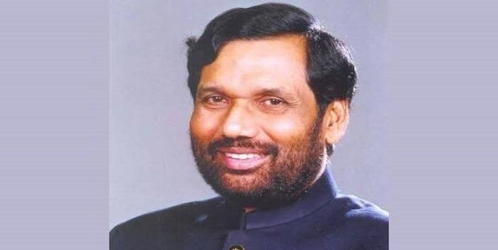 रामविलास पासवान को पद्मभूषण सम्मान, चिराग पासवान ने जताया प्रधानमंत्री का आभार