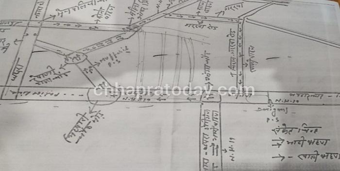 छपरावासियों को जाम से निजात दिलाने के लिए भारी वाहनों के लिए बना रुट चार्ट, देखिये