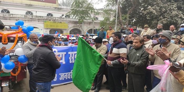 राष्ट्रीय सड़क सुरक्षा सप्ताह: रोटरी छपरा ने निकाली जागरूकता रैली डीएम ने दिखाई हरी झंडी