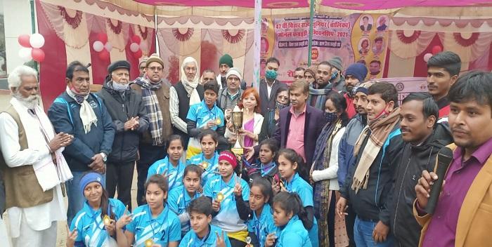 सारण ने जीता बिहार राज्य जूनियर बालिका जोनल कबड्डी चैंपियनशिप का खिताब