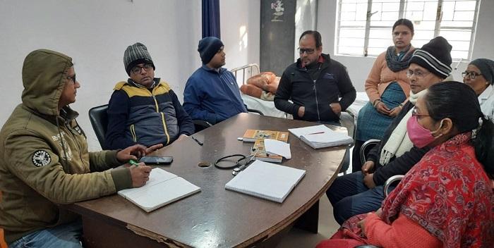 मिशन परिवार विकास अभियान के सफल क्रियान्वयन को लेकर प्रखंड टास्क फोर्स की बैठक