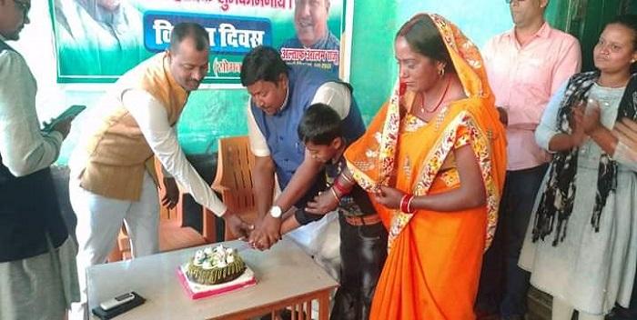 मढ़ौरा: विकास दिवस के रूप में मनाया गया मुख्यमंत्री नीतीश कुमार का जन्मदिन