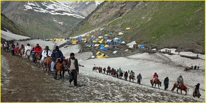 अमरनाथ यात्रा जाने वाले श्रद्धालुओं का 15 से ऑनलाइन पंजीकरण