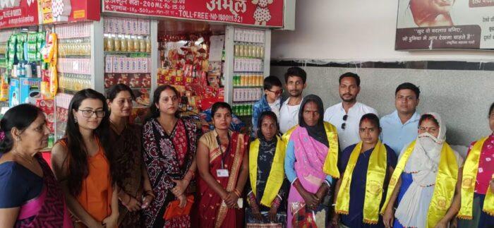 अंतराष्ट्रीय महिला दिवस: स्वच्छता कर्मियों को किया गया सम्मानित