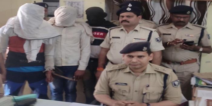सीएसपी लूटकांड में संलिप्त 3 अपराधी गिरफ्तार
