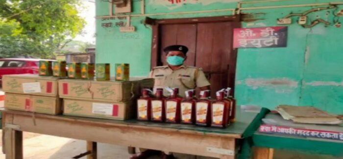 मशरक में अंग्रेजी शराब के साथ तीन गिरफ्तार