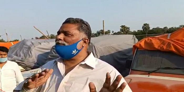पप्पू यादव पर अमनौर में एफआईआर, खड़ी एम्बुलेंस को क्षतिग्रस्त करने का लगा आरोप