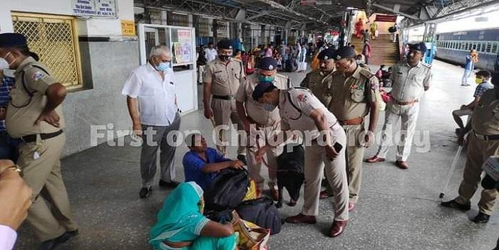 स्वतंत्रता दिवस को लेकर छपरा जंक्शन पर सुरक्षा कड़ी, रेल पुलिस सतर्क